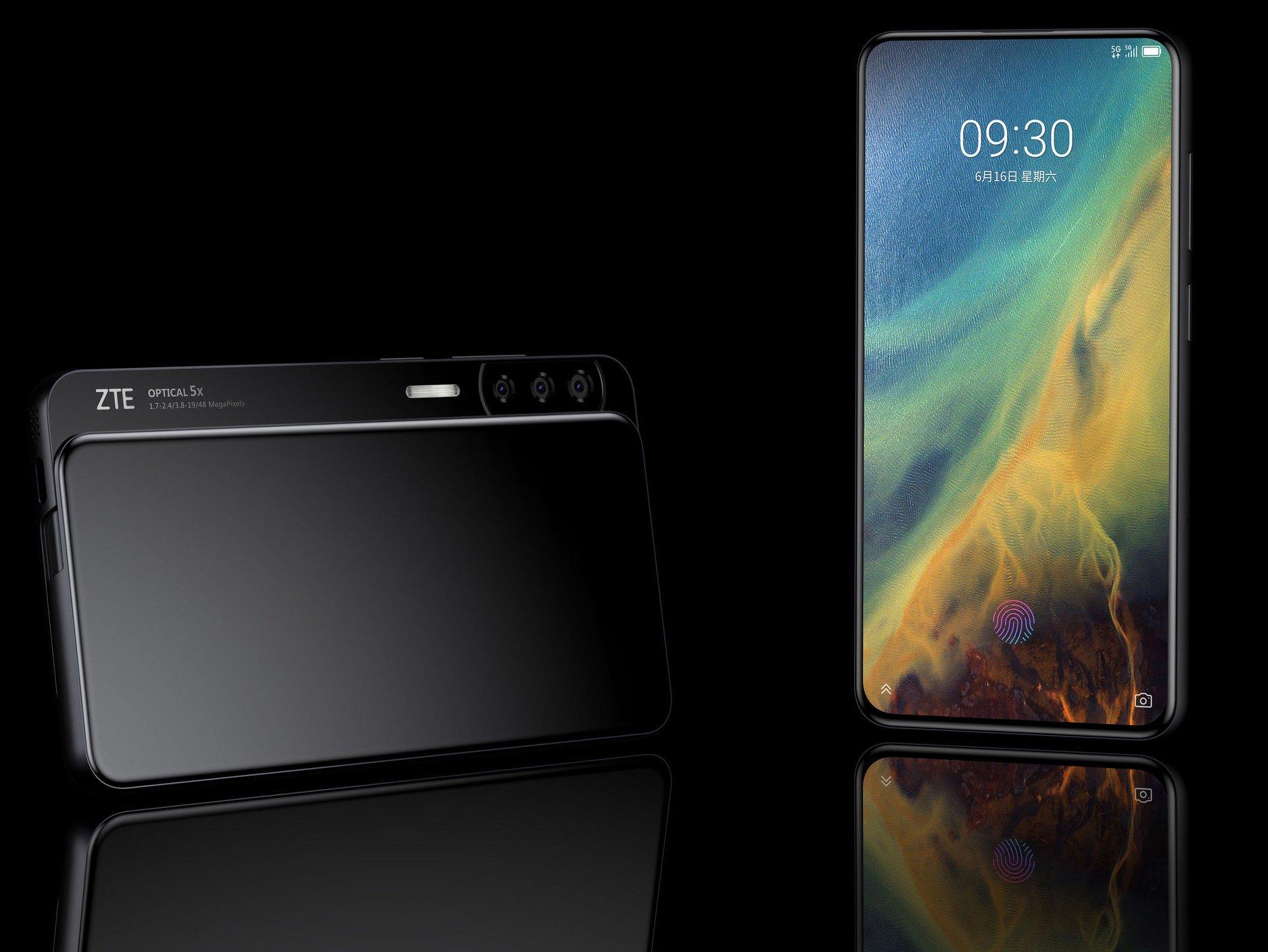 Slider-Smartphone: ZTE schiebt beim Axon S die Kamera beiseite