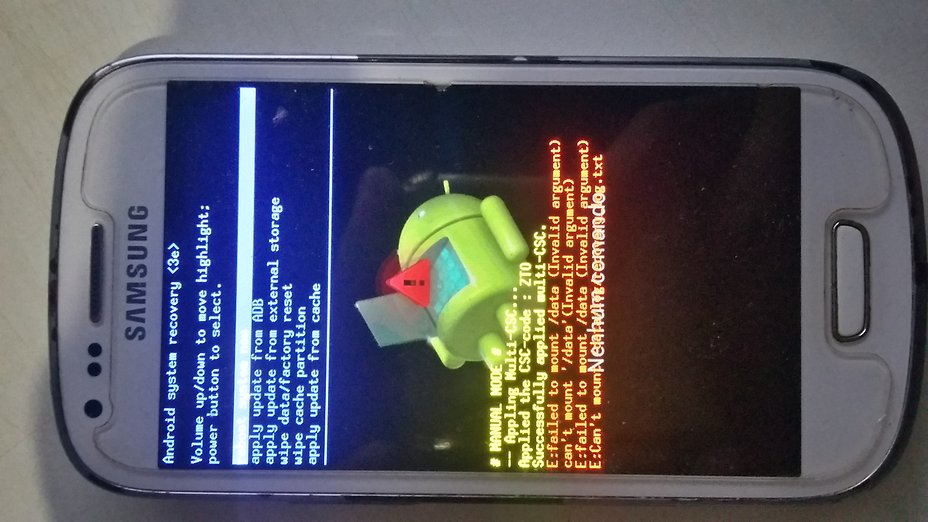 Samsung Galaxy S3 mini — Problema diferente | Fórum AndroidPIT