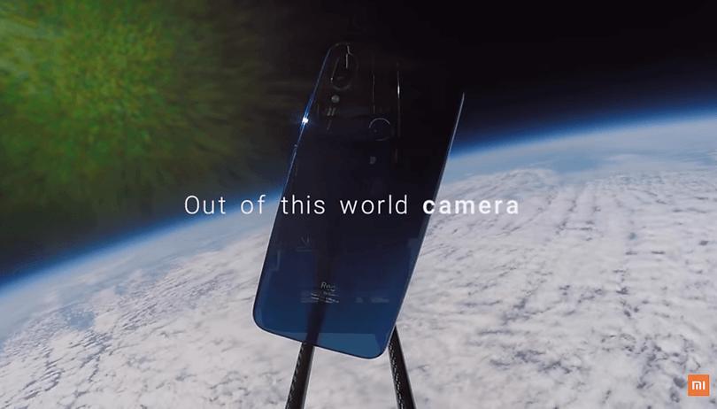 Xiaomi manda o Redmi Note 7 para o espaço