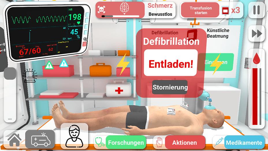 Reanimation inc - realistic biomedical simulator