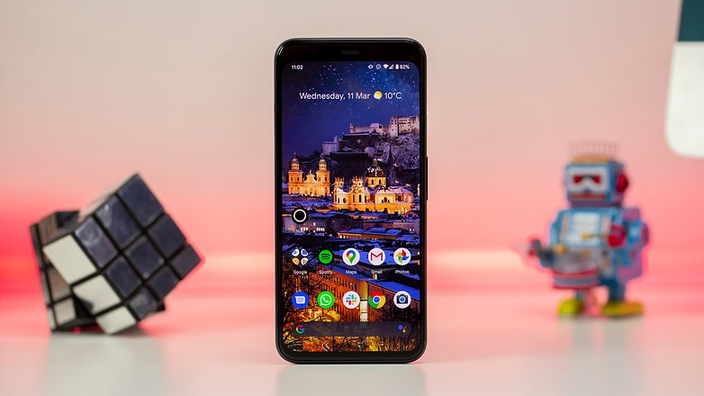 The Pixel 4's design is unimpressive, but that's because it's useful.