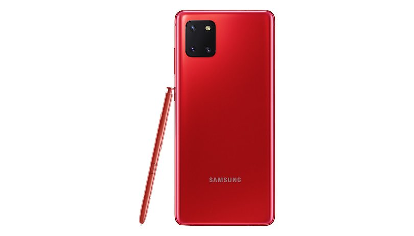 The Samsung Galaxy Note 10 Lite has been officially presented