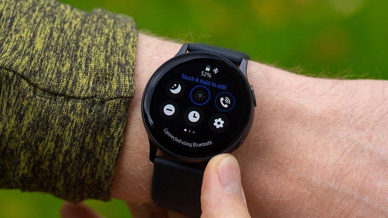 AndroidPIT Samsung Galaxy Watch Active2 Menu 1
