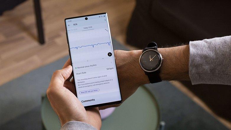 AndroidPIT Hexen bewegen EKG App