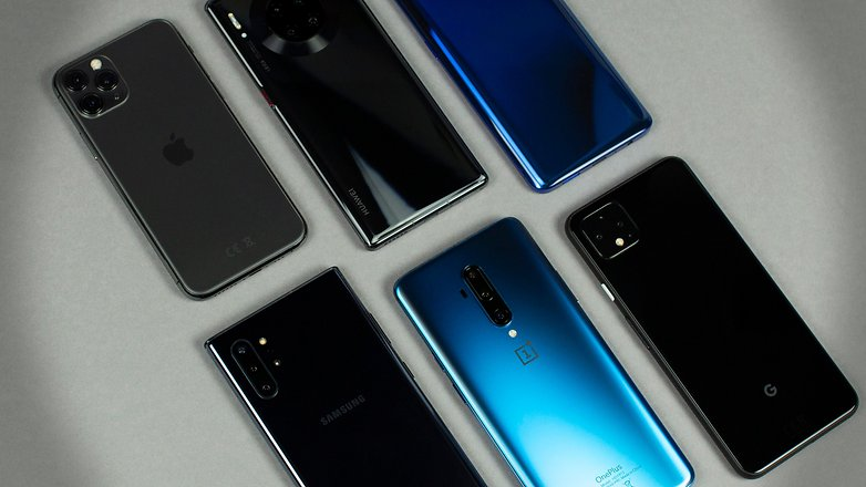 AndroidPIT Beste High-End-Smartphones Hero 4