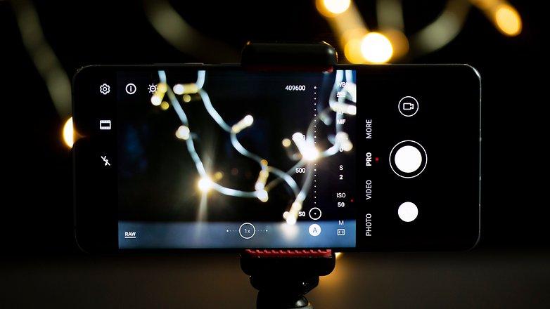 AndroidPIT Feuerwerk Fotos ISO