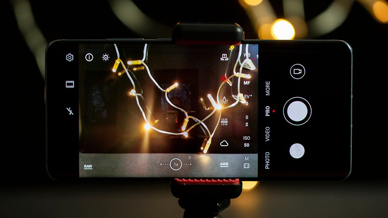 AndroidPIT Feuerwerk Fotos Weißabgleich