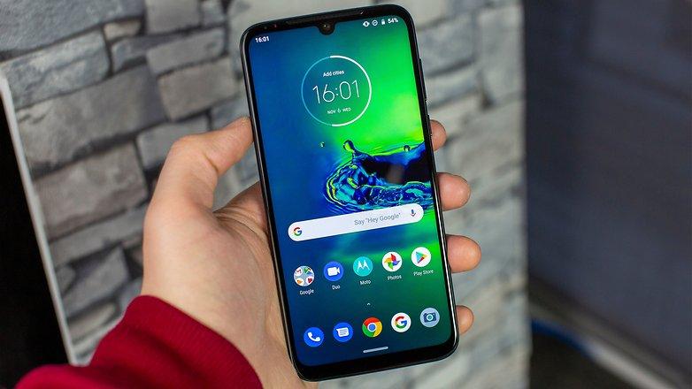 AndroidPIT Motorola G8 Plus Front 1