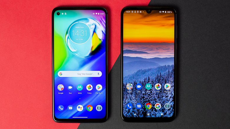 AndroidPIT Motorola Moto G8 Power G8 Plus Comparison 1