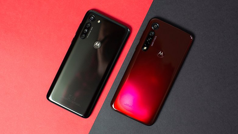 AndroidPIT Motorola Moto G8 Power G8 Plus Comparison 2