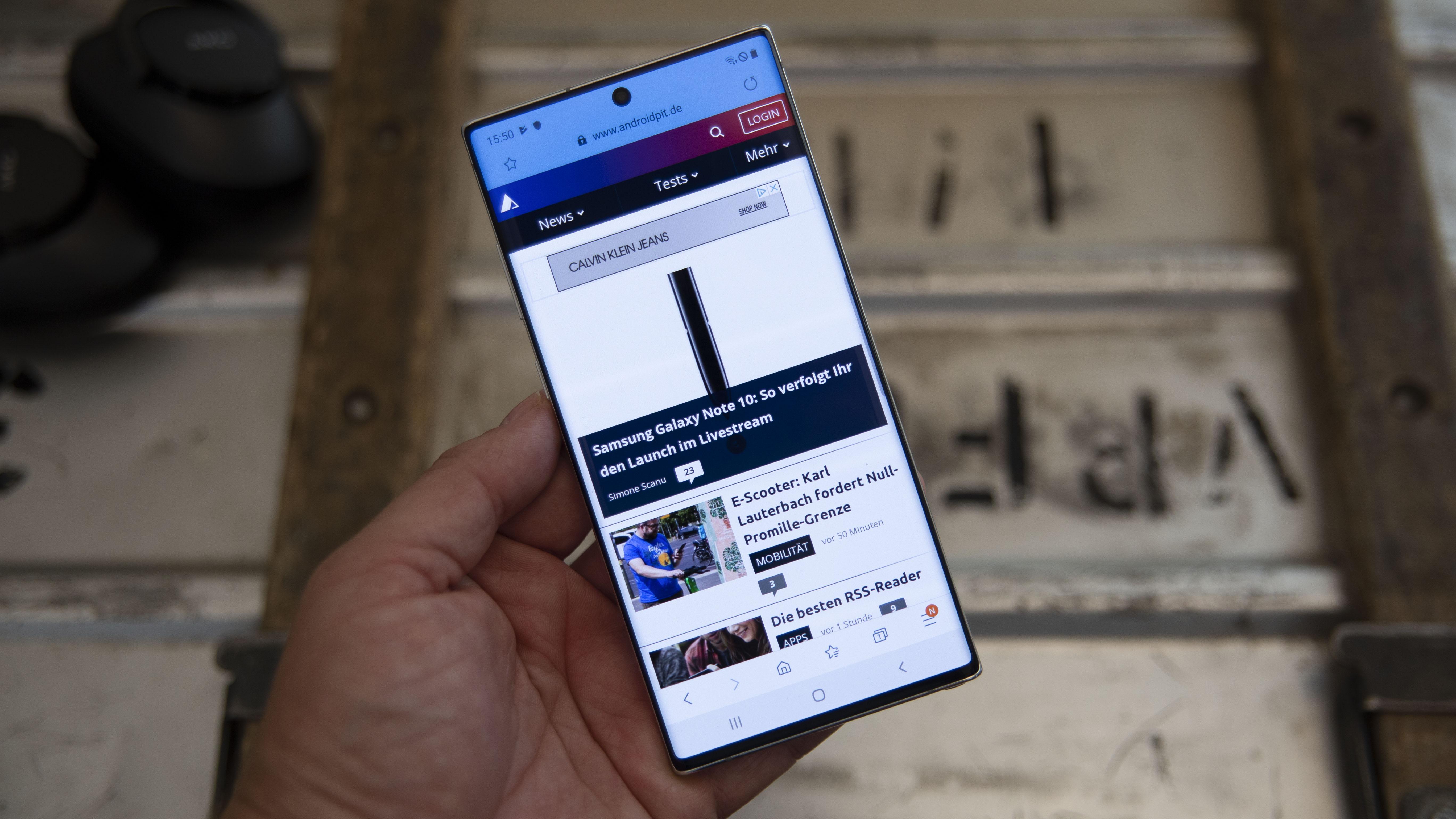 Unboxing: Wir packen das Samsung Galaxy Note 10+ für Euch aus