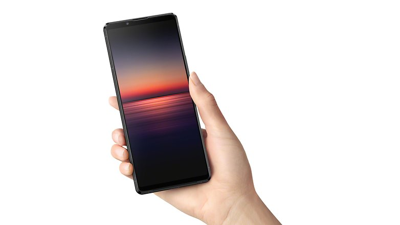 AndroidPIT Xperia 1 II Affichage noir