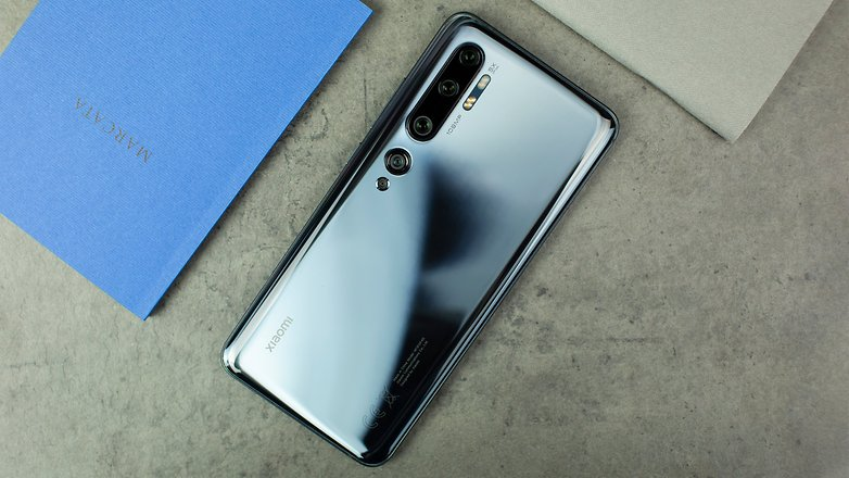 AndroidPIT Xiaomi Mi Note 10 Back 1