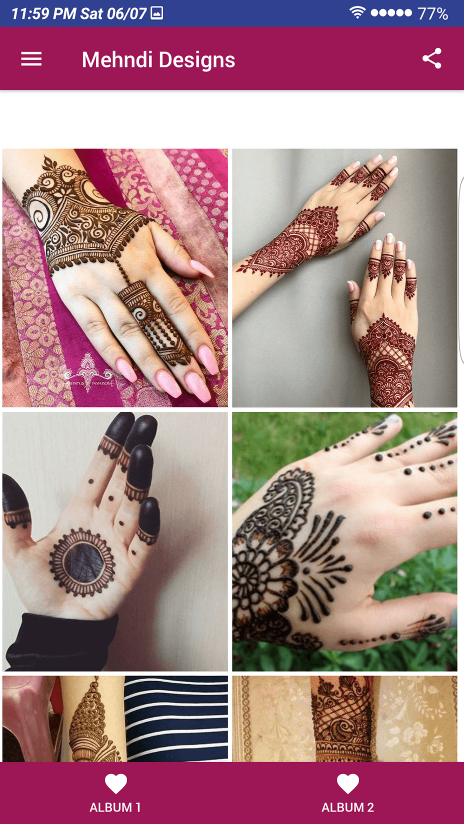 New Mehndi Designs Latest 2019 App Simple And Easy To Use
