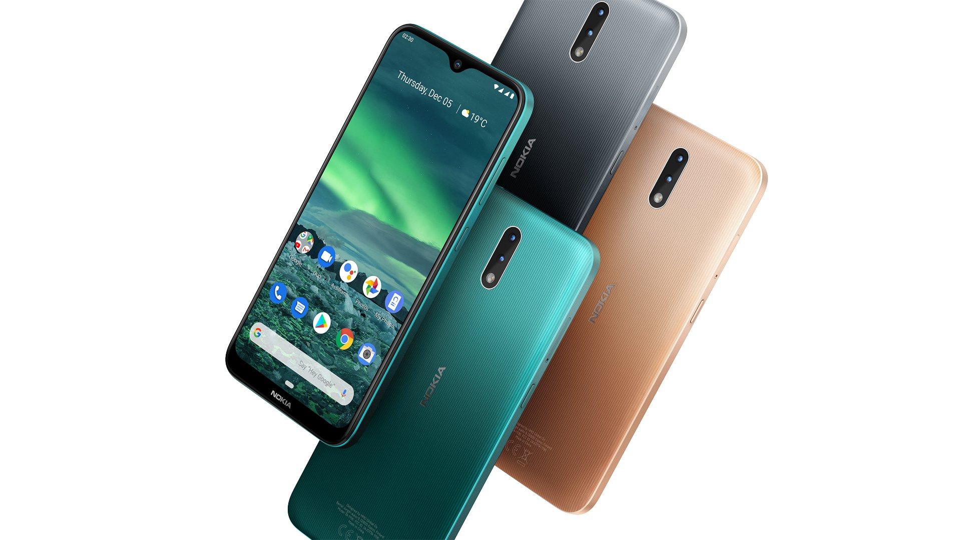 Nokia 2.3 vorgestellt: Neuer Einsteiger mit Android One