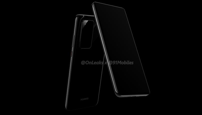 Huawei P40: Erste Bilder und eine 10fach-Kamera