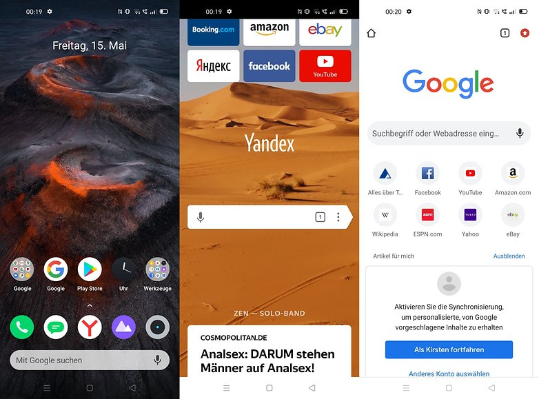 realme 6 review yandex browser