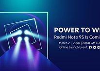 Redmi Note 9S: Live-Stream präsentiert alten Bekannten