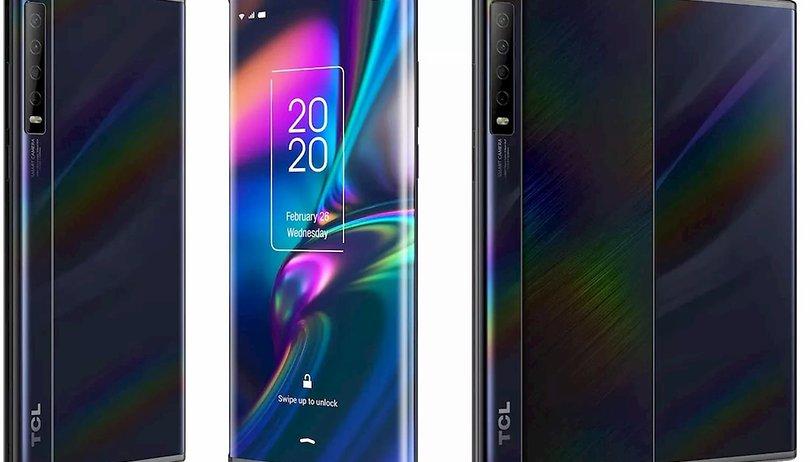Les premières images du nouveau smartphone de TCL