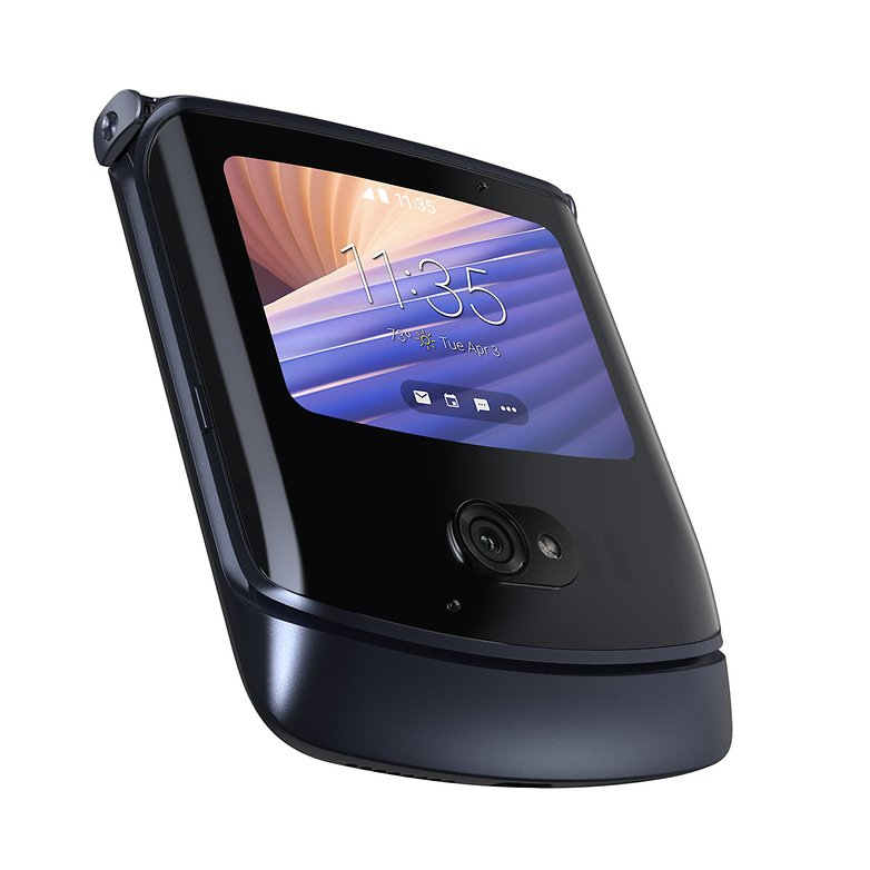 Motorola razr 5G Schwarz 4