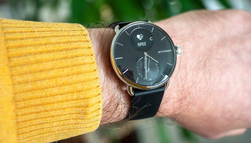 Test de la Withings ScanWatch: Une smartwatch avec ECG et SPO2 hybride et puissante