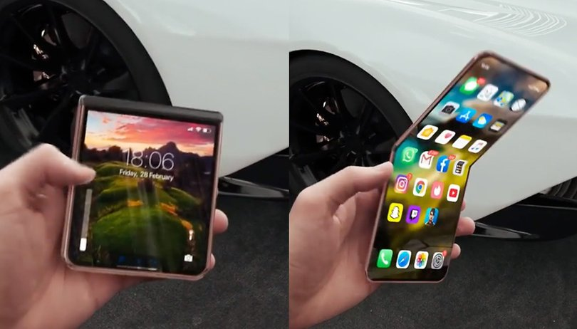 Foldable beauty: this flip iPhone is a feast for the eyes