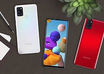 Samsung Galaxy A21s: Mega-Akku zum Mini-Preis