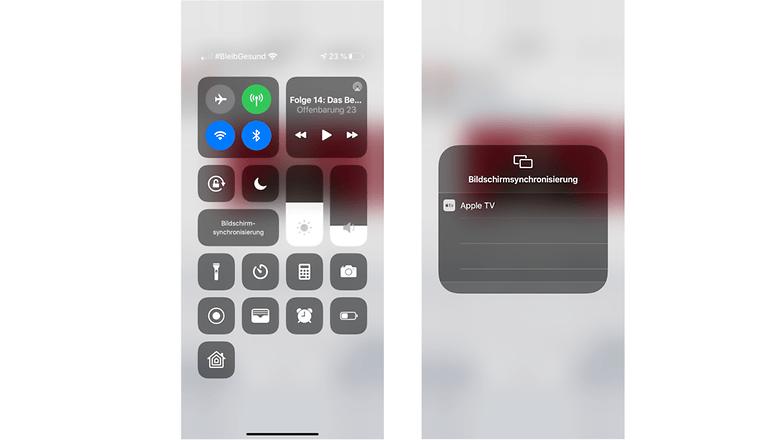 iphone fernseher führt