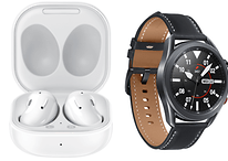 Samsung's new wearables: Galaxy Buds Live and Galaxy Watch 3 introduced