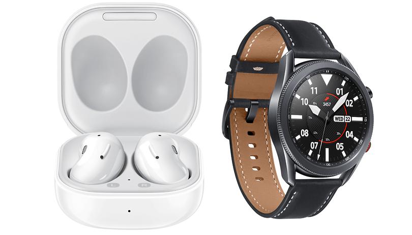 Samsungs neue Wearables: Galaxy Buds Live und Galaxy Watch3 vorgestellt