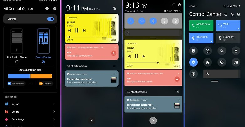 5 apps android ios mi control center