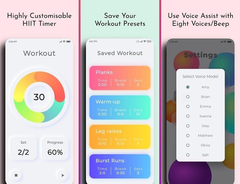 5 apps week1 workout timer