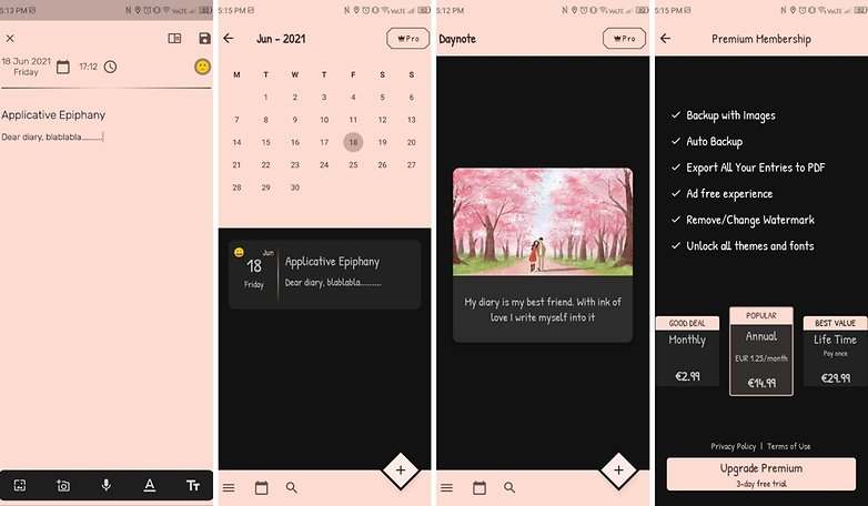 5 apps week 24 2021 daynote