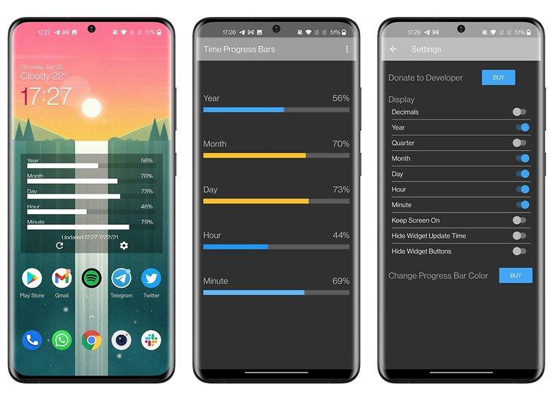 5 apps week 29 2021 time progress bars
