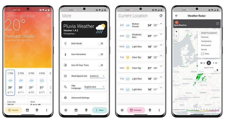 5 apps week 33 2021 pluvia weather