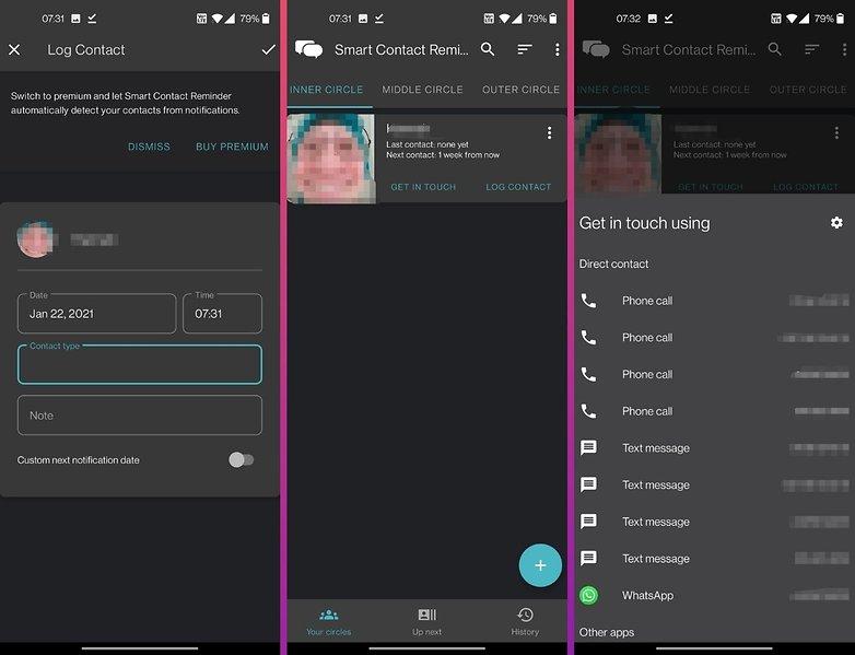 5 apps week 4 smart contact reminder