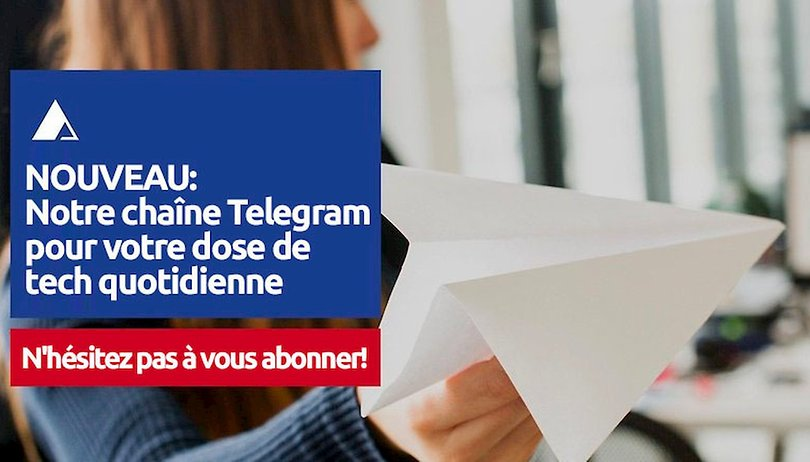 AndroidPit France est sur Telegram, n'hésitez pas à nous rejoindre!