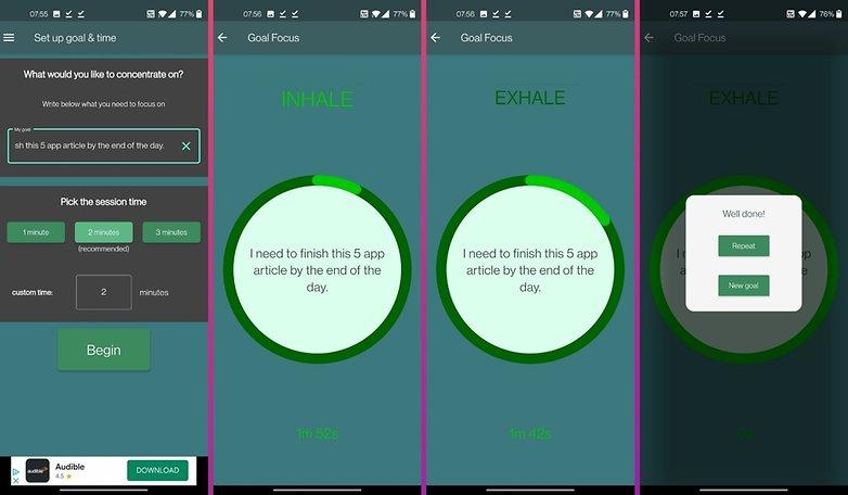 Copie de 5 apps week 4 goal focus