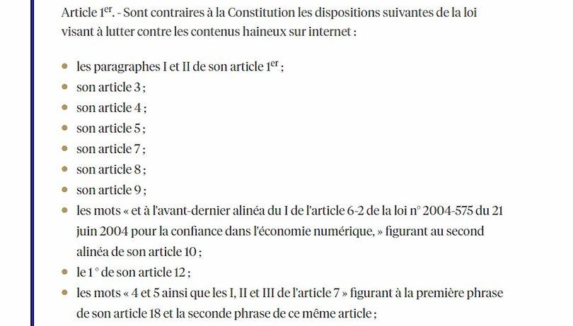 Loi Avia: L'obligation de retrait en 24 heures censurée par le Conseil constitutionnel