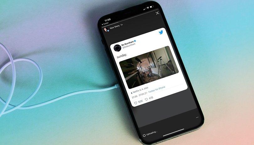 Como compartilhar seus tweets como um Stories do Instagram no iPhone