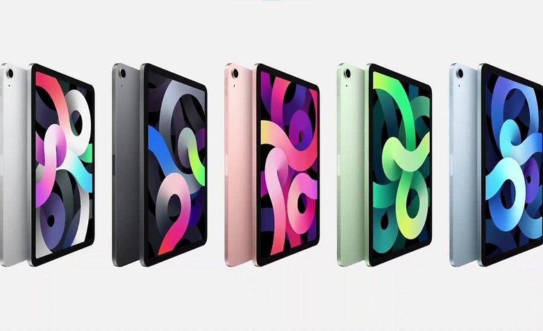 apple ipad air colors 2020