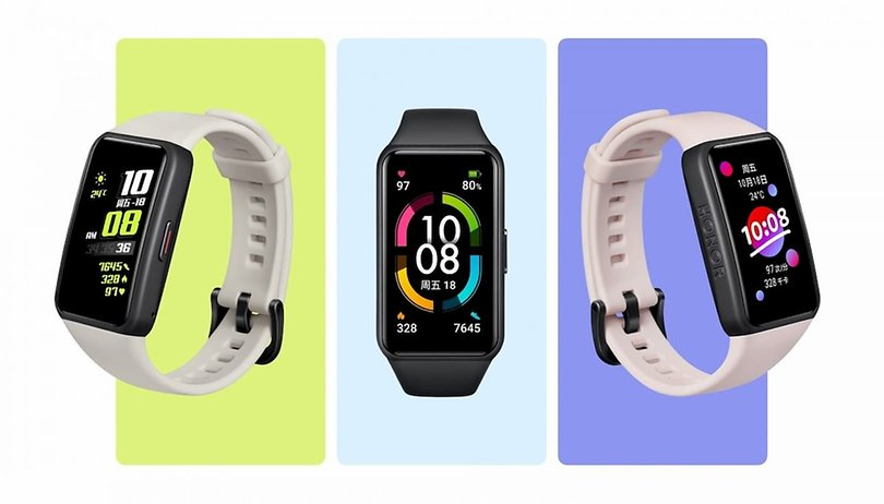 CES 2021: Honor Band 6 - Smartband mit AMOLED-Screen & SpO2-Sensor