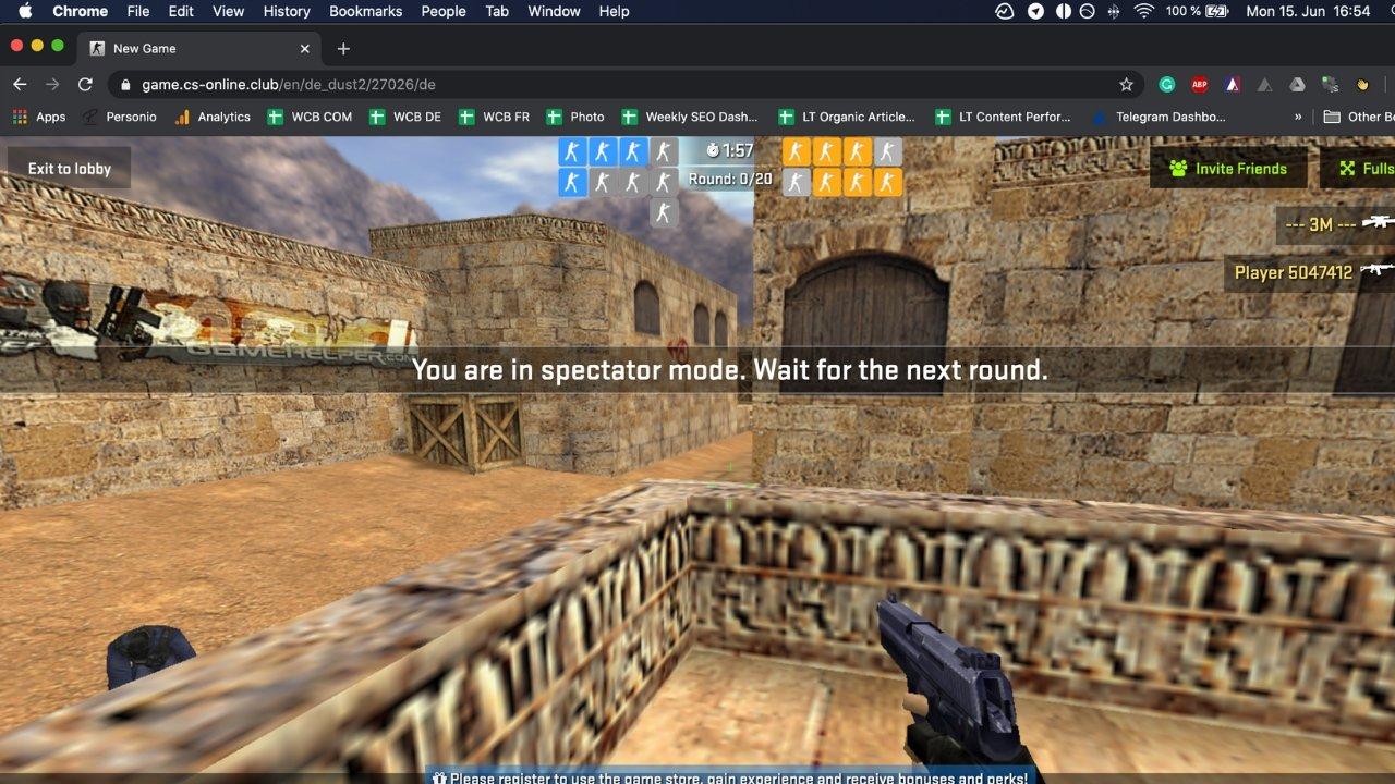 Counter Strike 1.6: Ab jetzt könnt Ihr von Eurem Webbrowser aus spielen
