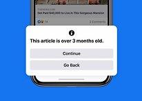 Contre les fake news, Facebook veut limiter le partage d'old news