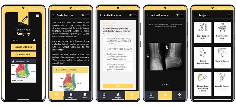 फ्री ऐप android ios मुझे सर्जरी सिखाता है