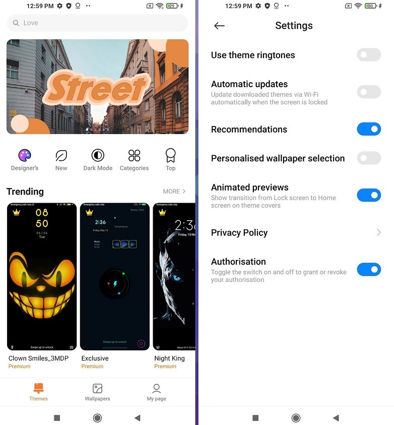how to remove miui xiaomi ads themes