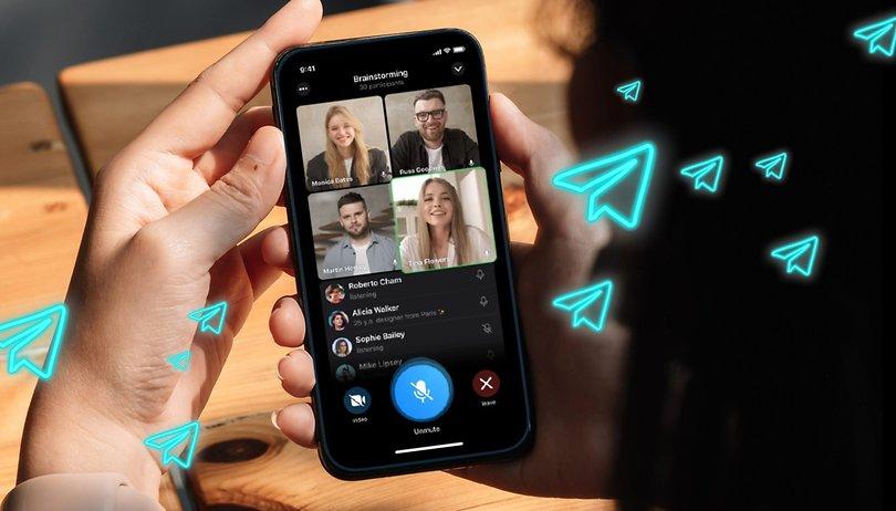 Telegram: como fazer uma vídeo chamada em grupo?