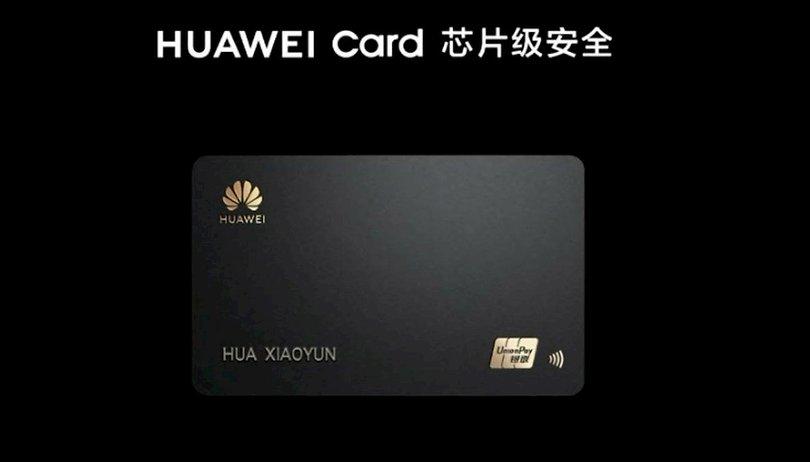Après l'Apple Card, Huawei sort la Huawei Card, sa propre carte bancaire
