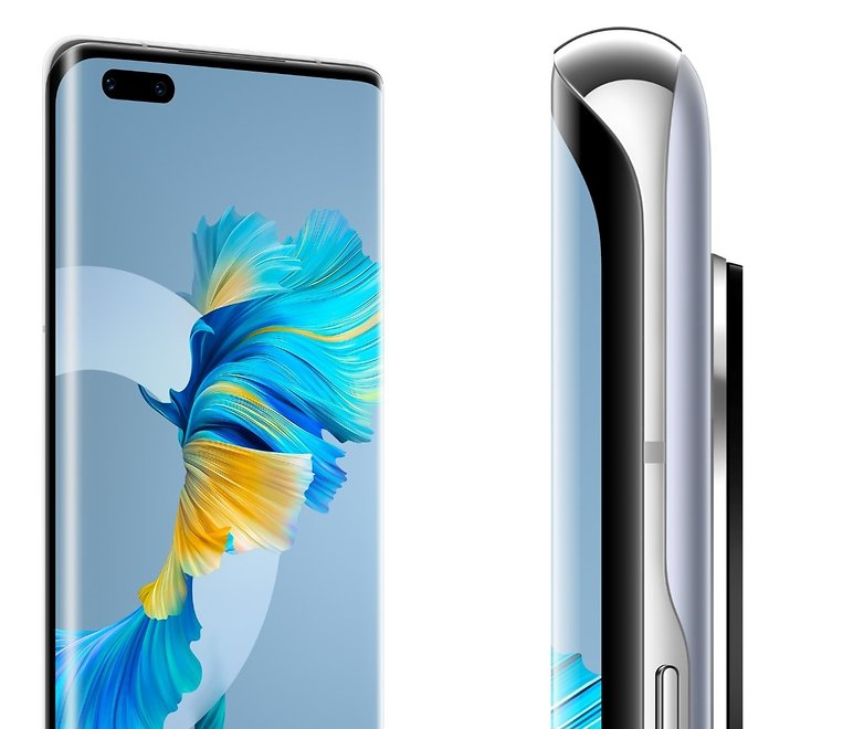 huawei mate 40 pro offial design waterfall