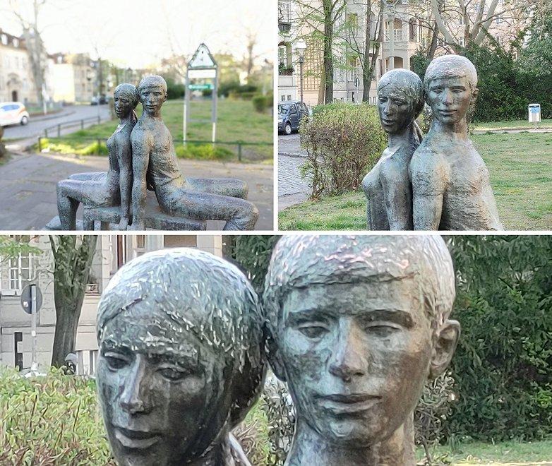 lg v60 zoom statue